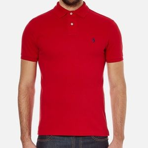 Polo by Ralph Lauren Red Polo